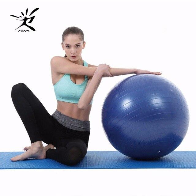 IVIM fitness yoga bola anti burst estabilidad bola total body balance ejercicio  para el envío los 5d907a8da402