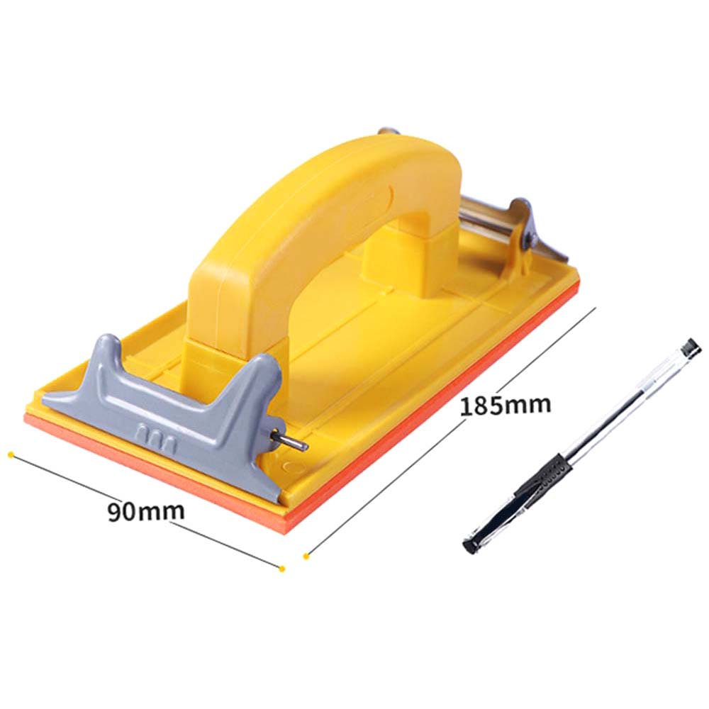 Wet and Dry Hand Grip Sandpaper Holder Grinding Polished Tools for Polishing Walls Sanding Woodworking 1PC-in Abrasive Tools from Tools