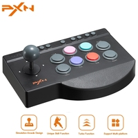PXN 00082 Game Joystick For PS4 For Xbox One USB Fighting Stick Arcade Stick Rocker For