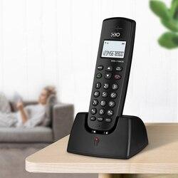 16 linguagem Digital Sem Fio Fixo de Telefone Com ID de Chamada Handsfree Mudo LEVOU Tela Do Telefone Sem Fio Para Home Office