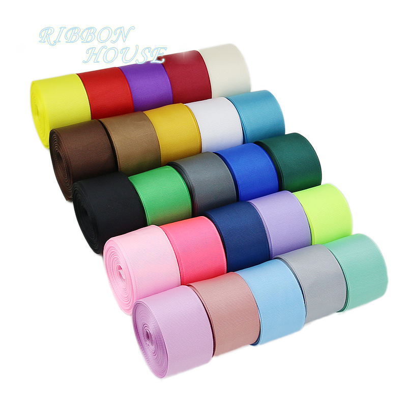(5 Meters/lot) 38mm Grosgrain Ribbon Wholesale Gift Wrap Christmas Decoration Ribbons