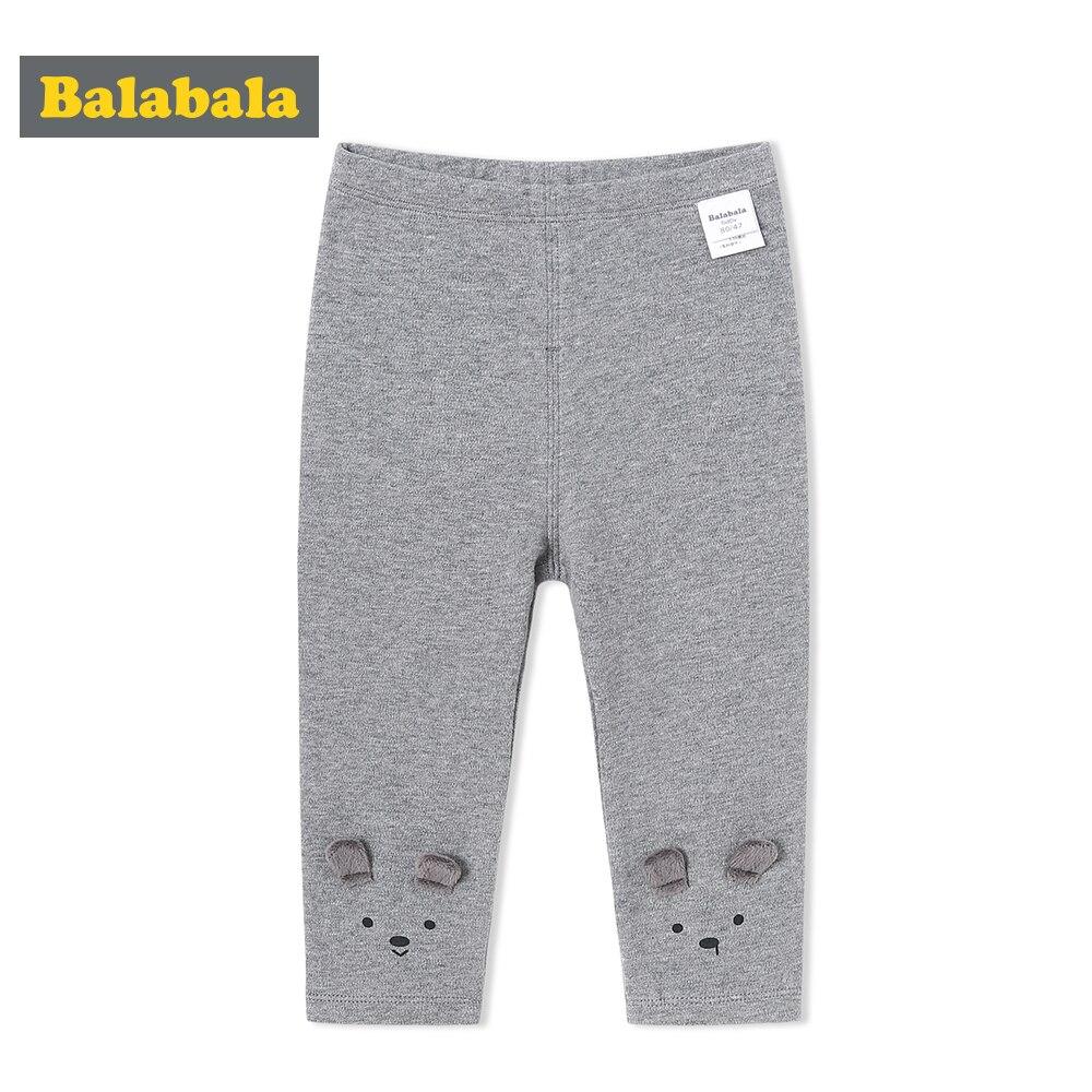 Balabala Baby Baumwolle Hosen Mit 3d Ohr Decor Infant Neugeborene Baby Mädchen Jungen Herbst Bottom Harem Hosen Hosen Elastische Taille Online Rabatt