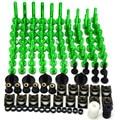 CNC de la motocicleta body work carenado tornillos para kawasaki ninja 250 (ex250) ninja400 ninja300 ninja 650 r zx-10r zx-12 r zx-6