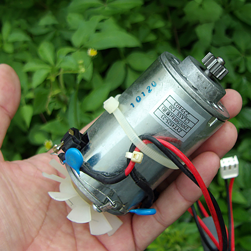 High speed high pressure <font><b>DC</b></font> <font><b>Motor</b></font> high torque <font><b>motor</b></font> DC230V 9400 rpm <font><b>motors</b></font> compensating carbon brush DIY generator image