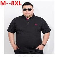 Большие размеры 10XL 8XL 6XL 5XL 4XL брендовая одежда мужские поло Homme Твердые оптовая рубашка поло повседневное для мужчин футболка Топы корректир...