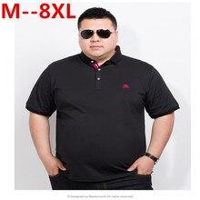 plus size 10XL 8XL 6XL 5XL 4XL Brand Clothing Polo Homme Sol