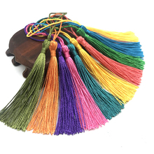 32pcs/lot 13cm Polyester Silk Tassel Fringe Hanging Spike Tassels Trim For Sewing curtain Accessories DIY Jewelry Craft Making