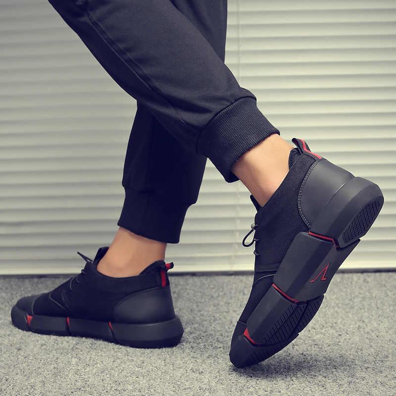 ZYYZYM Shoes Men Black Spring Autumn