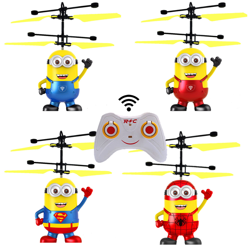 Action figure drone RC helicopter kids toys quadcopter Children s gifts Drones outdoor toys juguetes Xmas