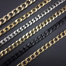 DIY Jewelry making metal material Gold silver rose gold black NK shape Handmade Jewelry Factory price 100cm