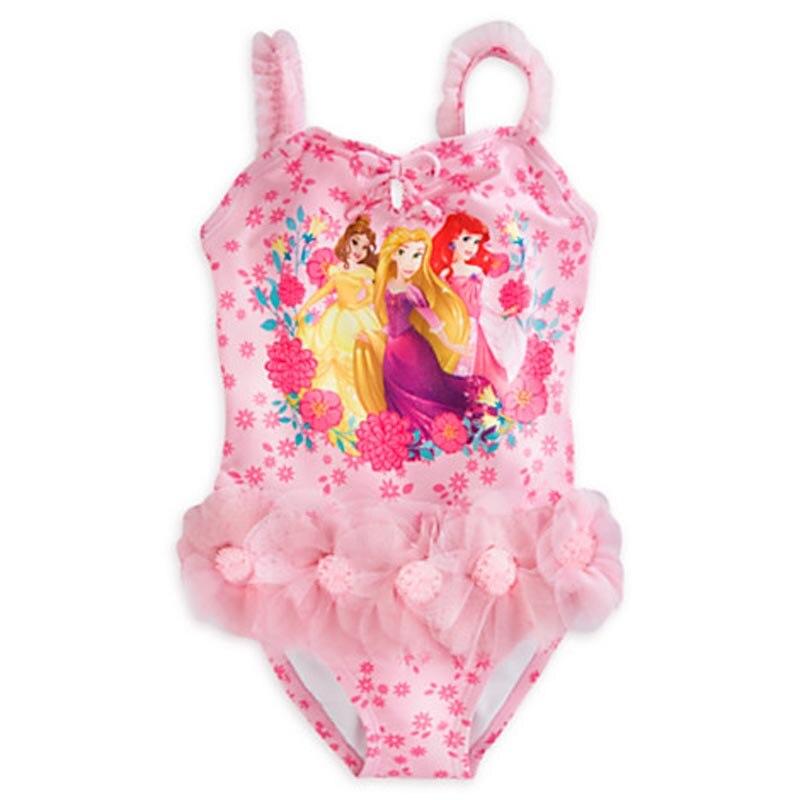 vendita al dettaglio di ragazze costumi da bagno principessa un parti dei bambini ragazze costume