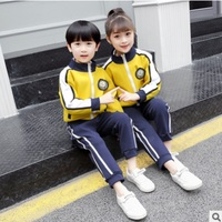 Boys and Girls School Uniforms Clothing Set 2019 Spring Children 's Class Uniforms Primary and Secondary School Students ly064