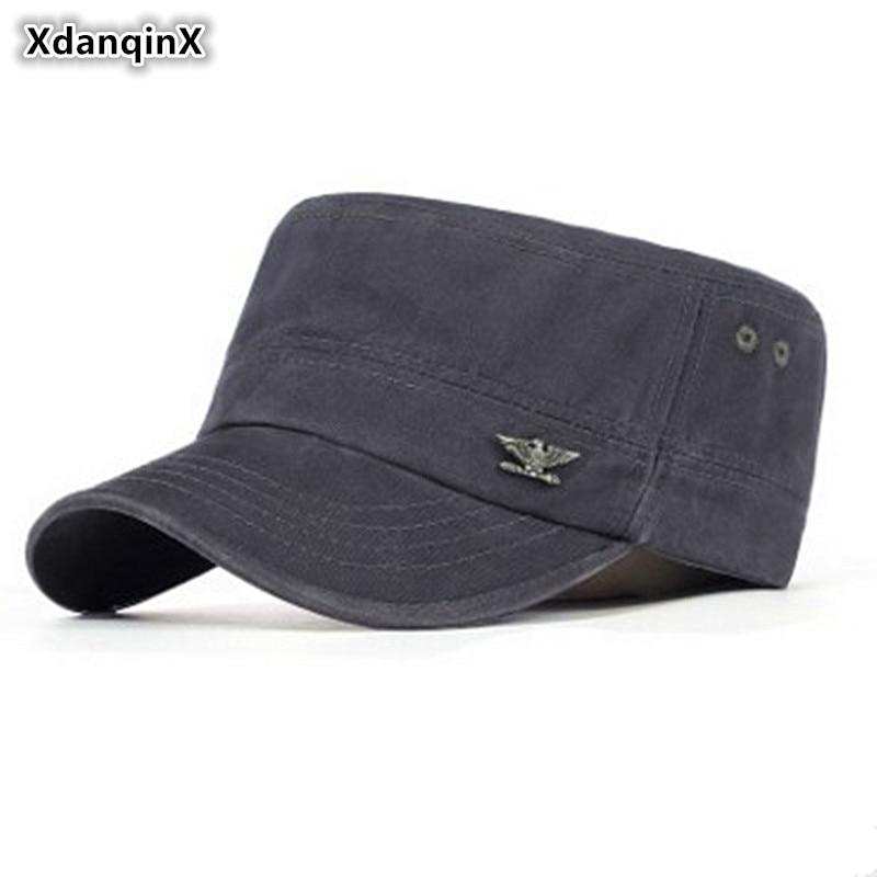 XdanqinX 2019 Verano Hombres Adultos Material de Algodón Sombreros - Accesorios para la ropa