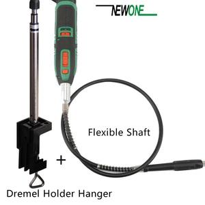 Image 5 - Uchwyt na wieszak Dremel i elastyczny wałek obrotowy do Mini wiertarki obrotowe akcesoria narzędziowe