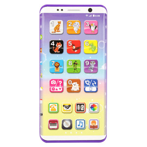Kids Smart Phone Toys Educational Multifunctional Smart Phone Toy With USB Port Touch Screen 2018 Educational Toys For Children