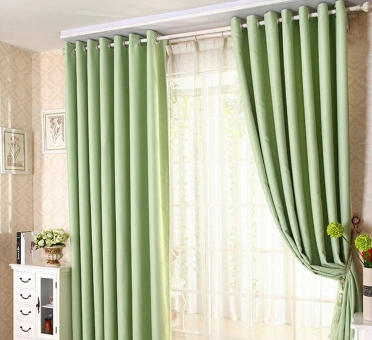 Minimalist Outdoor Contemporary Curtains Buy Modern Minimalist Solid Color Blackout Curtains For Livi