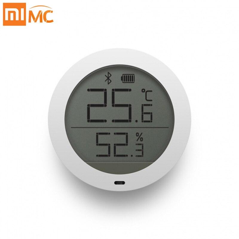 Original Xiaomi Mijia Bluetooth Termômetro Digital Sensor De Temperatura Inteligente E Umidade Medidor de Umidade Hygrothermograph MiHome APP