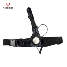 Outdoor Running LED Flashing Light Chest Strap Batteries for Go pro Gopro Hero Session 5 SJCAM Xiaomi Yi 4k Camera Accessories