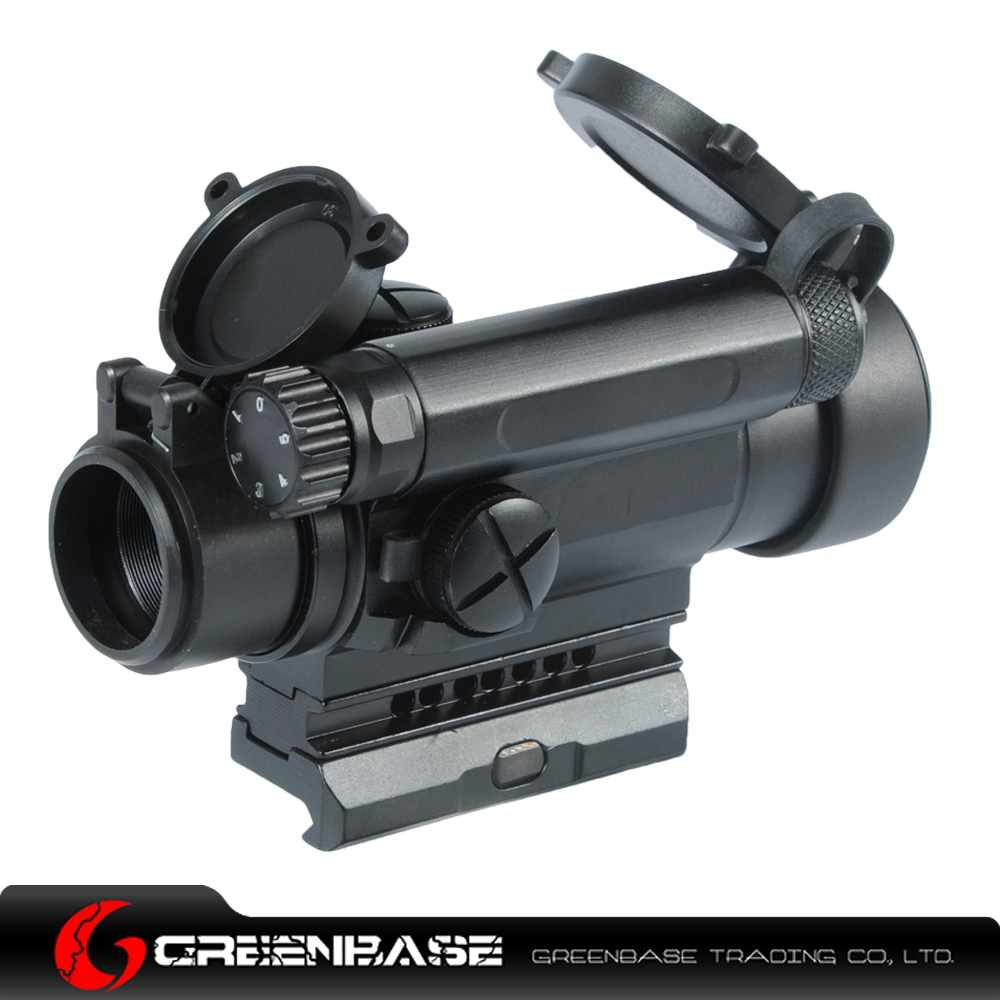 Greenbase Tactical Red Dot Sight Comp M4 Riflescope Hunting Shooting Scope Standard Spacer W/ Killflash Lens Cover Quick Detach tactical m4 1x40 red dot sight scope all aluminum alloy cnc hunting shooting r5565