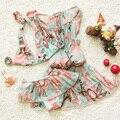 Children's swimsuit girls bebek bikini swimwear 2017 3pcs/set bikini girls children baby girl swimwear fashionable swimsuit