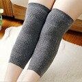 1 Pair = 2 Pcs Unisex Leg warmer grosso quente meias de lã de coelho Joelheira Artrite Joelho Protetor Manter Aquecido Prevent artrite