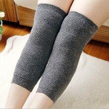 1Pair 2 Pcs Unisex Leg warmer thick warm rabbit wool Kneepad Rheumatoid Knee Joint Protector Keep