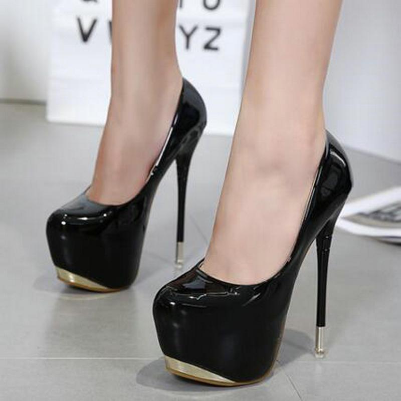 Mujer Black Diseñador Zapatos Tacones Sexy Boda White Charol Altos RpSwqwB
