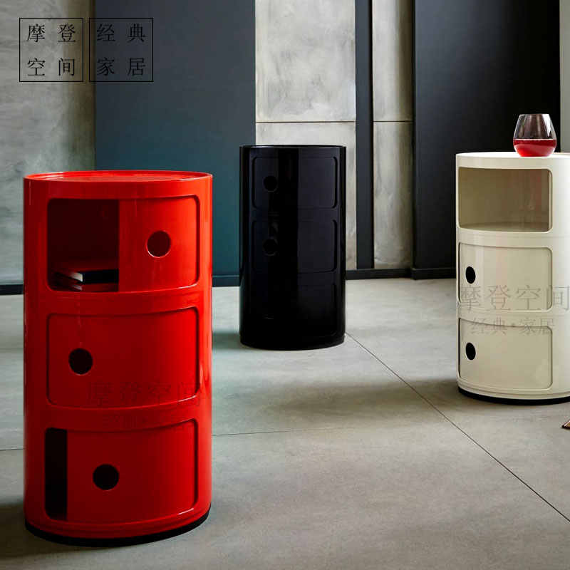Furniture/Componibili/circular lockers 3Laker/cabinet bedside/Wholesale nightstand/storage/storage cabinet free shipping