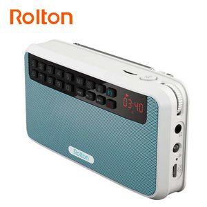 Image 2 - カードラジオポータブルミニ Bluetooth スピーカーワイヤレスハンズフリー Fm ラジオサポート TF カードプレイとレコーダーと懐中電灯