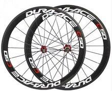Adesivo de pintura de carbono para bicicleta, bom preço, chinês, clincher, rodas, superfície de freio de basalto, rodas de bicicleta de estrada, 50mm, hub de cerâmica