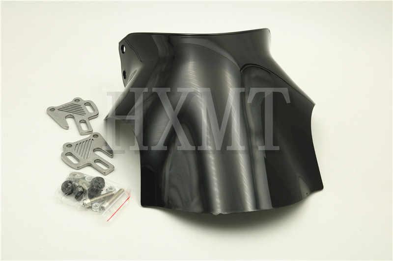 Fit For Yamaha XJR400 XJR1200 XJR1300 XJR 400 1200 1300 ABS Motorcycle Motorbike Windshield//Windscreen+screws Spoiler Color : Black