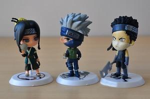 Image 5 - Figurines de bandes dessinées japonais Jump Naruto, 6 pièces/lot, figurines en PVC, Kakashi Sakura Sasuke Itachi Obito Gaara