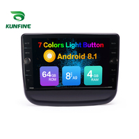 Octa Core ROM 64GB Android 8.1 Car DVD GPS Navigation Player Deckless Car Stereo For Chevrolet Equinox Radio Headunit Device
