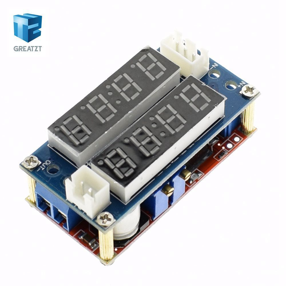 Hot Selling 1pc 5a Adjustable Power Cc Cv Step Down Charge Module High Current Supply Circuit 030v 20a Using Lm338 Please Connect Right As The Printed In Out Or Will Be Burned
