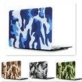 Прохладный Новый Камуфляж усталость Армии Темно-Матовая Крышка Ноутбука Чехол для Macbook Pro 13 Pro 15 13 15 Retina Защитной Оболочки случаях
