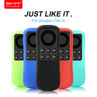 SIKAI New Design Original Gel TPU Cover Replacement Remote Case For Amazon Fire Stick Remote Silicone