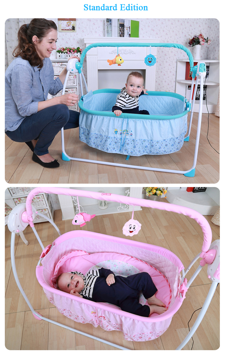 rede cadeira inteligente bebê crianças berço automático com controle remoto sono