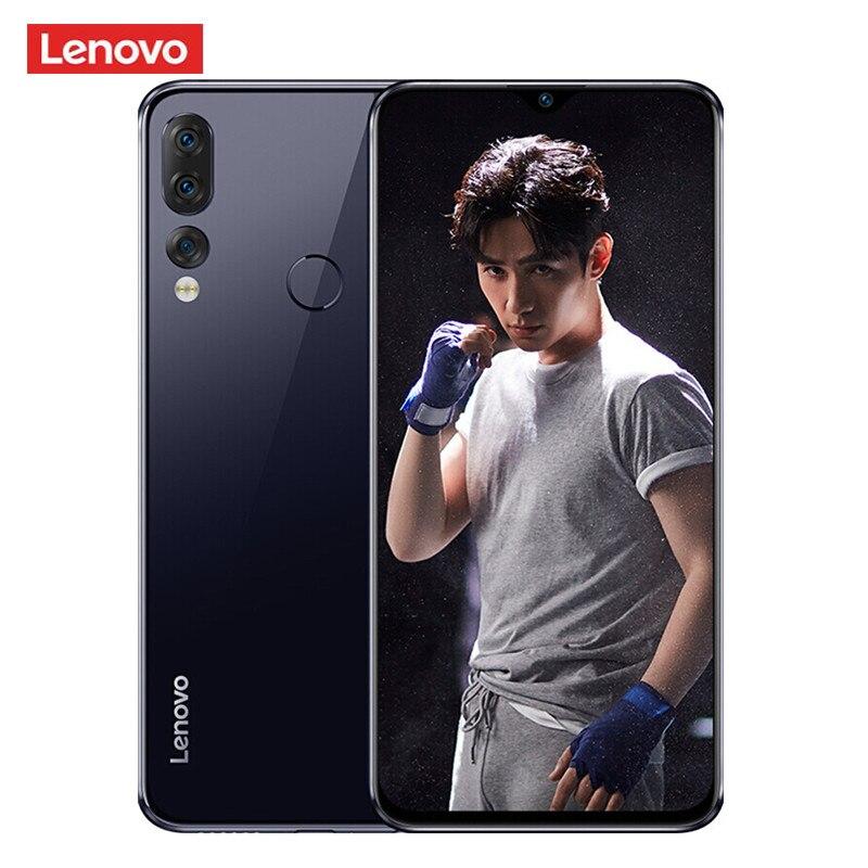 Lenovo Z5s 4G Smartphone 6.3'' Android P Qualcomm Snapdragon 710 Octa Core 4GB 64GB 16.0MP Fingerprint 3300mAh Mobile Cellphones