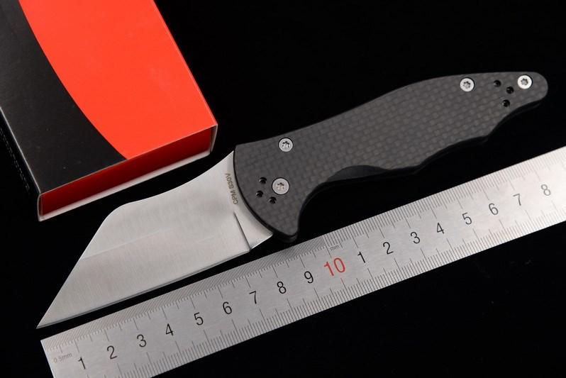 Jufule C85 en fiber de carbone ou G10 traitent S30V lame Pliante couteau camping chasse extérieure survivre Couteaux multi EDC Outil cuisine couteau