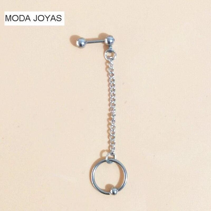 1pcs KPOP BTS Bangtan Boys Album Tassels circle Stud Earrings Korean Jewelry Accessories For Men And Women Earring