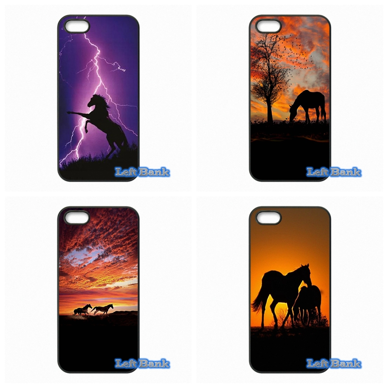 Horse Hard Phone Case Cover For Apple iPod Touch 4 5 6 For iPhone 4 4S 5 5S 5C SE 6 6S Plus 4.7 5.5