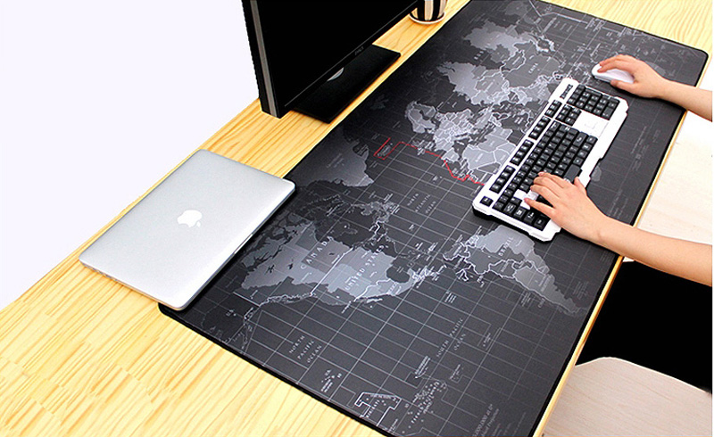 Горячая Экстра большой коврик для мыши карта старого мира игровой коврик для мыши Противоскользящий натуральный резиновый игровой коврик для мыши с запирающимся краем
