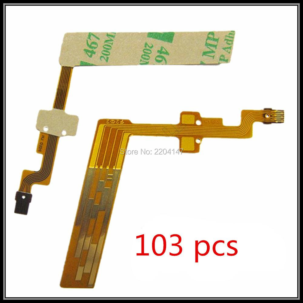 FREE SHIPPING! 103pcs/LOT NEW Parts For CANON 18-55 Mm 18-55mm Lens Focus Electric Brush Flex Cable The Second Generation II