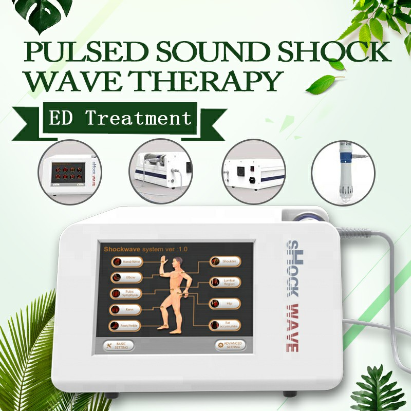 6 Bar Shockwave Extracorporeal Shock Wave Therapy Pneumatic Shockwave Therapy For Shoulder Pain Treatment ED Treatment Achine