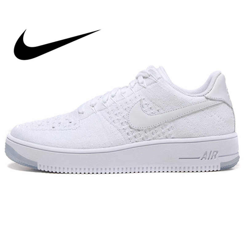 wholesale dealer e76ac f679b Detail Feedback Questions about NIKE Air Force 1 Men s Breathable  Skateboarding Shoes Sport Sneakers Top Quality Athletic Designer Footwear  2018 New 817419 ...
