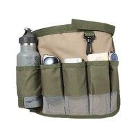 1Piece Garden Tool Bag Fabric Garden Bucket Bag For Gardening Tool Pouch Bags Foldable Hardware Tools