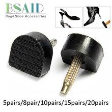 BSAID/1-10 пар/уп. шпильки на высоком каблуке для женщин, обувь на высоком каблуке, шпильки на шпильках, штифты, штифты на подъеме, сменные стопоры на каблуке, защита
