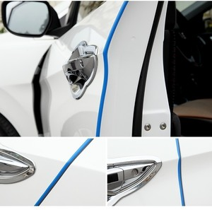 Image 5 - 5M/Pack Car Door strips Rubber Edge Protective strips Side Doors Mouldings Adhesive Scratch Protector Vehicle For Cars Auto