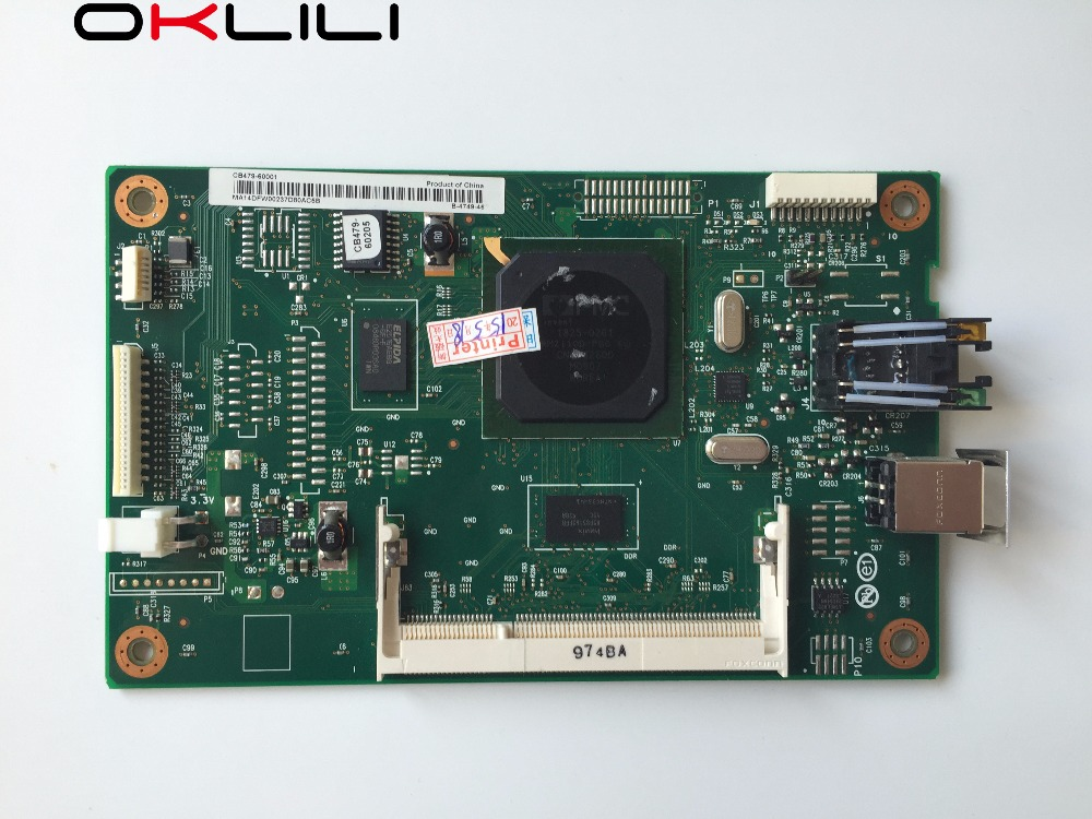 CB479-60001 Network Formatter main logic board MainBoard mother board for HP CP1215 CP1515 CP1518 CP1515N CP1518NI CP1510 series