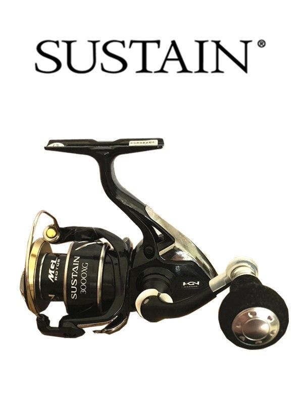 100% Original SHIMANO SUSTAIN 2500 3000XG 4000 Gear ratio 5.0: 1 6.2: 1 4.8: 1 molinete de pesca carretel